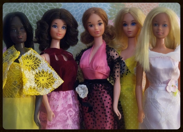 These Barbies aren't from the Stittsville collection; you'll just have to drop by in person to see what's on display. Flickr/Creative Commons photo by romitagirl67.