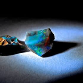 Flickr/Creative Commons photo of opals by Yagan Kiely.