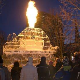 Winterlude, ice sculpture, winter, festival, carnival, Ottawa