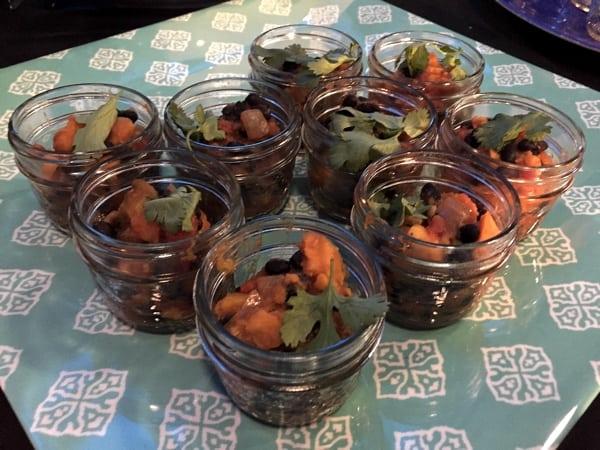 black bean mango sweet potato cilantro stew Ottawa Welcomes the World