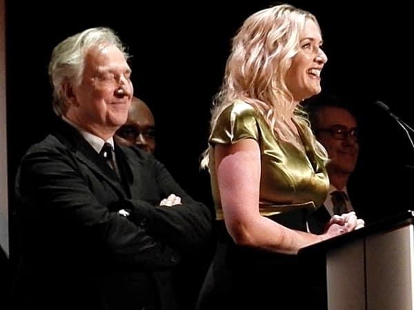 Alan Rickman Kate Winslet TIFF 2014