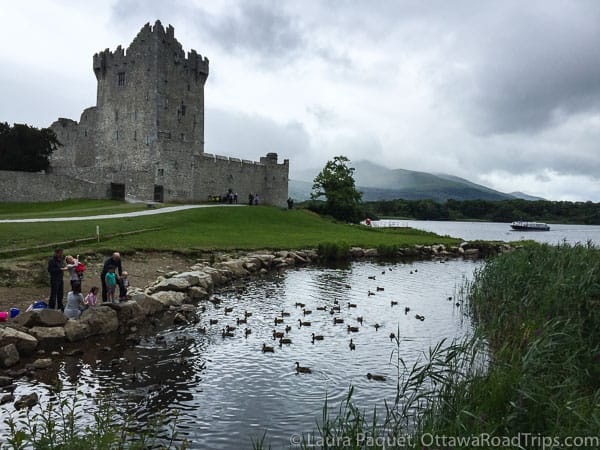 Ross Castle Killarney National Park Ireland