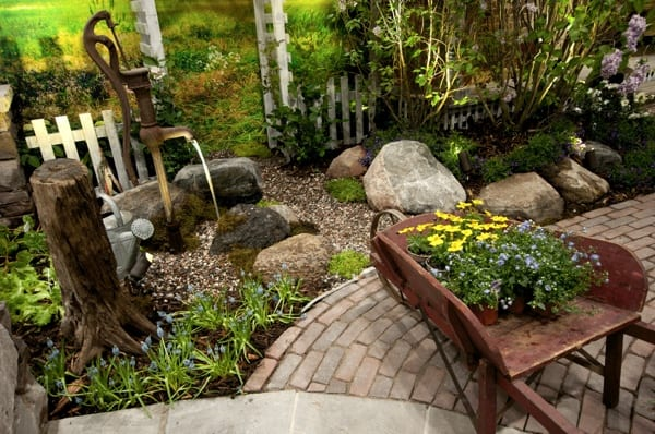 Fantasy garden built by OGS Landscape Services. Photo by David Ohashi.