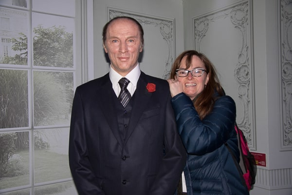 Pierre Trudeau wax figure at Musée Grévin in Montreal.