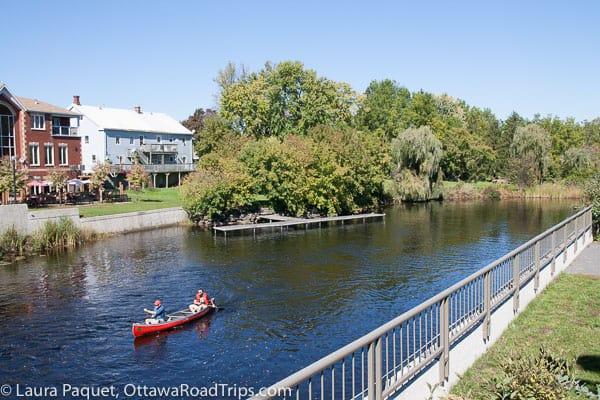 Kemptville, canoeing
