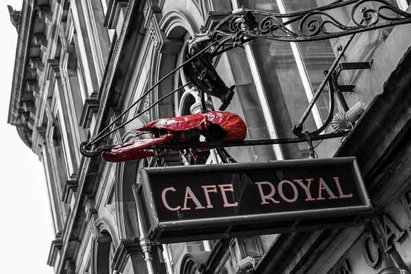 Edinburgh Cafe Royal
