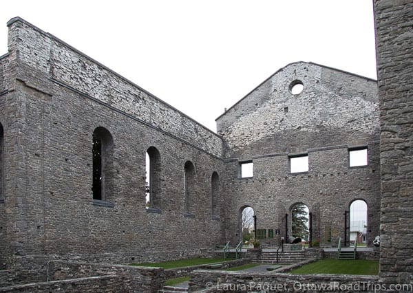 The ruins of St. Raphael's Church are a National Historic Site.