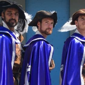 The Three Musketeers, St. Lawrence Shakespeare Festival, Prescott, Ontario.