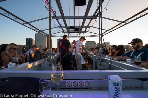 Chefs in Sky Lounge, Ottawa.