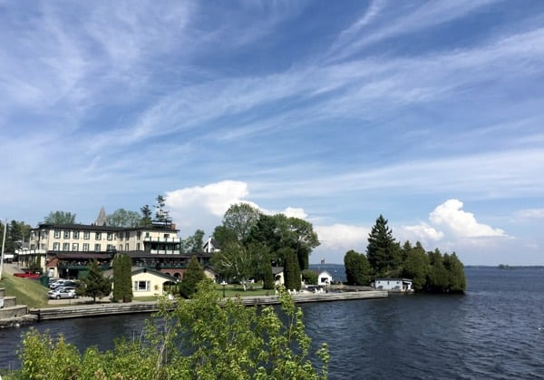 Gananoque Inn from the water