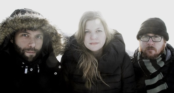 The Once, an indie folk trio from Newfoundland.
