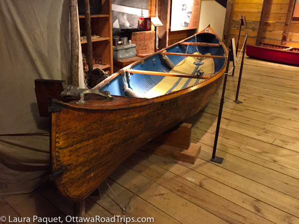 Peterborough, Ontario, is home to the Canadian Canoe Museum.